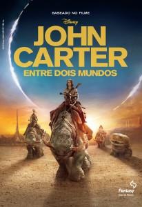 Capa John Carter - oficial